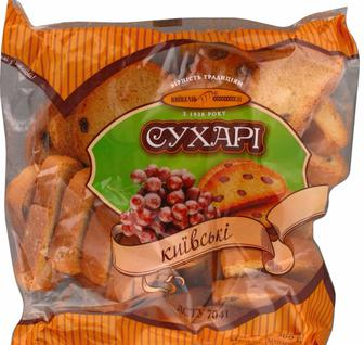 Сухарі Київські, Київхліб, 0,26 кг