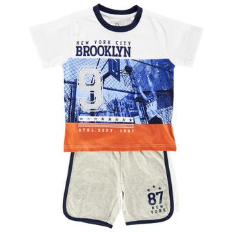 Костюм Brooklyn: футболка и шорты