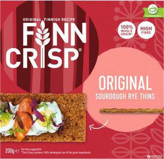 Сухарики Finn Crisp Original Taste ржаные цельнозерновые 200 г