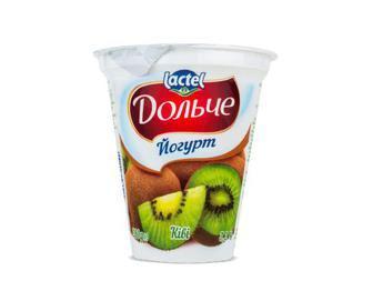 Йогурт Дольче, 3,2% жиру, ківі,280 г