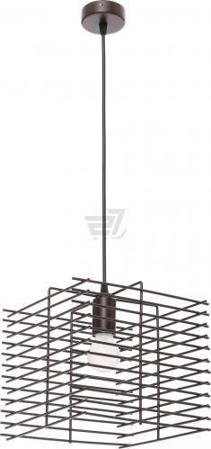 Підвіс Vitaluce 1x60 Вт E27 коричневий V4083-7/1S