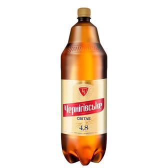 Пиво Чернігівське Світле 4,6% пет, Чернігівське, 2,35л