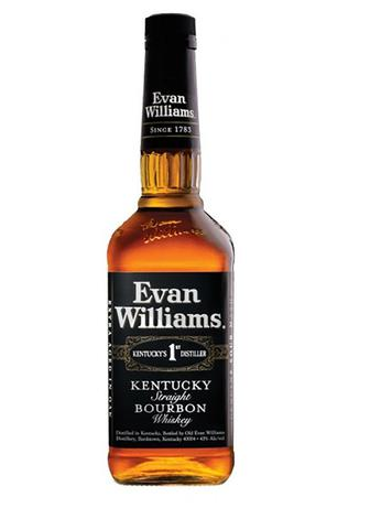 Виски Evan Williams Black 0.75л