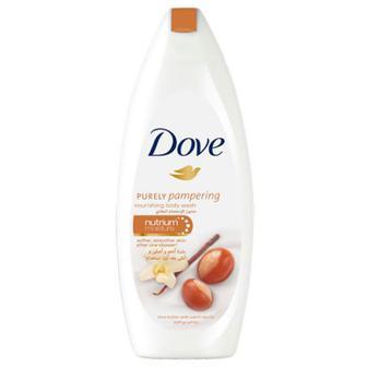 Крем-гель Dove для душу Масло ши та пряна ваніль 250мл