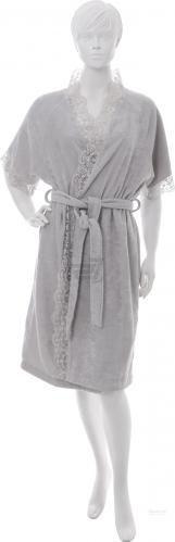 Халат жіночий La Nuit р. XS сірий Home Lace