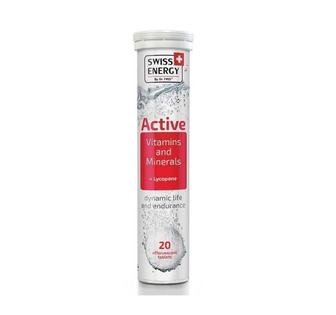 Витамины шипучие Swiss Energy Active №20