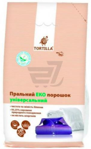 Пральний порошок універсал TORTILLA Еко 8 кг