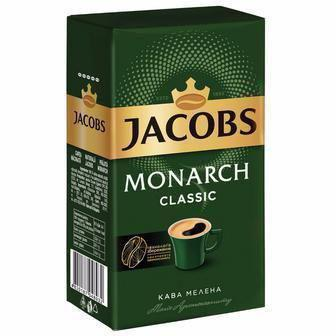 Скидка 38% ▷ КАВА мелена Monarch Classic, 450 г JACOBS