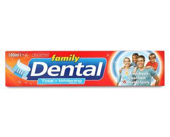 Паста зубна Dental Family «Комплексний захист та відбілювання» 100мл