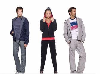На весь ассортимент мужской и женской спортивной одежды