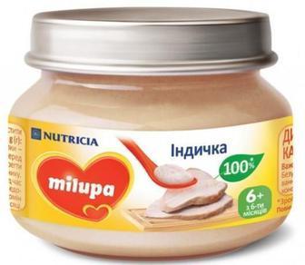 Пюре Milupa Индюшка (с 6 месяцев) 80 г