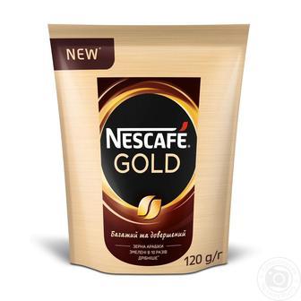 Кава розчинная Gold Nescafe 120Г