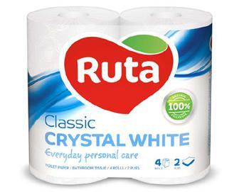 Папір туалетний Ruta білий, 4шт./уп