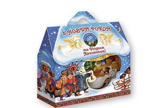 Нaбір кондитерський З Новим Роком та різдвом Kонті 351 г