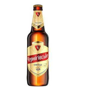 Пиво Світле 4,6%, Чернігівське, 0,5л