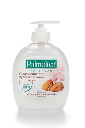Мыло жидкое Palmolive Белое с миндальным молочком, 300мл