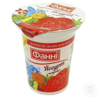 Йогурт 1,5% Фанні 280 г