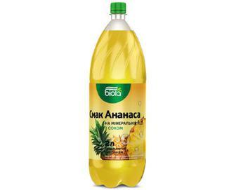 Напій «Біола» смак ананаса на мінеральній воді, 2л