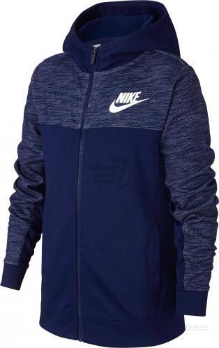 Джемпер Nike B NSW HOODIE FZ ADVANCE AJ0117-478 р. L синій