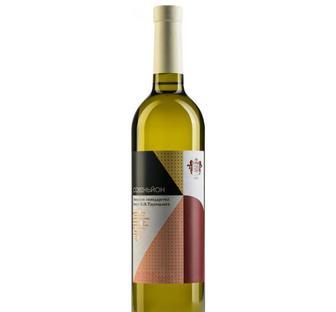 Вино Князь Трубецкой Совиньон белое сухое 0.75 л 9.5 - 13%