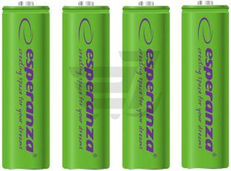 Акумулятор ESPERANZA AA (R6, 316) 4 шт. (EZA104G)