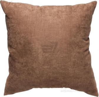 Подушка декоративна 45x45 см коричневий