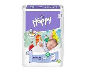Подгузники Happy Newborn 2-5 кг №42