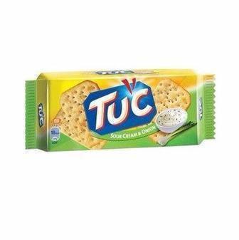 КРЕКЕР сир, сметана і цибуля, 100 г TUC