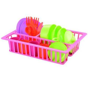 Игровой набор посуды с сушкой Smoby (606)