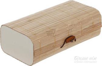 Скринька бамбукова натуральна AS-44S