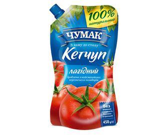 Кетчуп «Чумак» «Лагідний» 450г