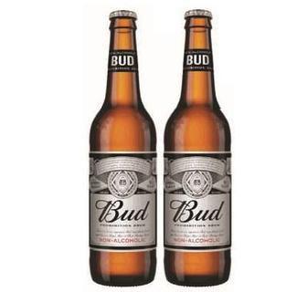 Пиво світле безалкогольне Bud 0,5л