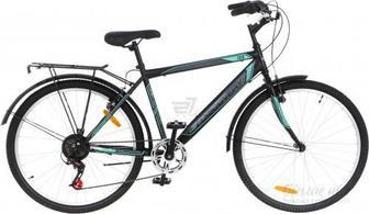 """Велосипед Discovery 18"""" TOUR чорно-бірюзовий RET-DIS-26-024"""