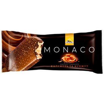 Морозиво Три Ведмеді Monaco карамель-кунжут 80г