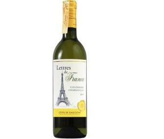 Вино Maison Bouey Lettres de France Colombard Chardonnay 0.75л