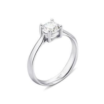 Серебряное кольцо с фианитом (1RI67777/19-R)
