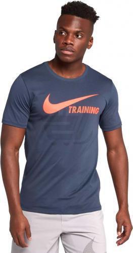 Футболка Nike TRAINING SWOOSH TEE 777358-472 XL синій