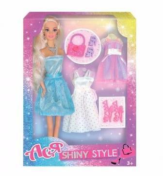 Лялька Ася Блискучий стиль 28 см