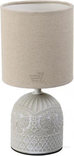 Настільна лампа декоративна Accento lighting 1x40 Вт E14 сірий ALT-T-D4030G