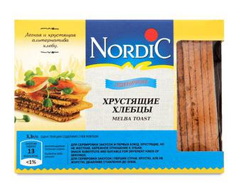 Хлібці Nordic пшеничні, 100г