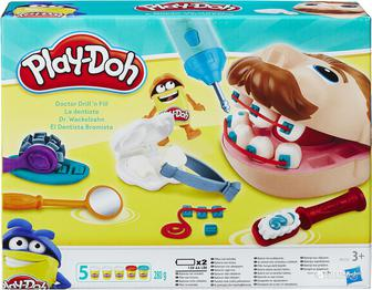 гровой набор Hasbro Play-Doh Мистер Зубастик