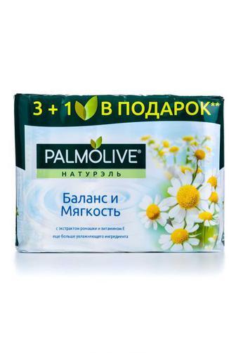 Мыло твердое Palmolive Баланс и Мягкость экопак, 4*90г