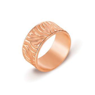 Обручальное кольцо с алмазной гранью. Артикул 10142