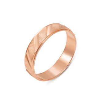 Обручальное кольцо с алмазной гранью. Артикул 1100/2