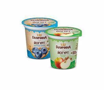 Йогурт  Галичина 2,5% 280г
