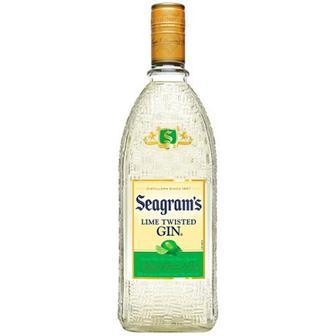 Джин Seagram`s Lime Twisted Gin 35% 0,75л