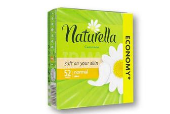 Прокладки Camomile Normal Naturella 54 шт