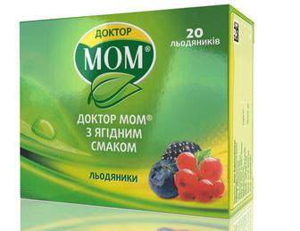 Доктор Мом леденцы от кашля №20 (ягоды)