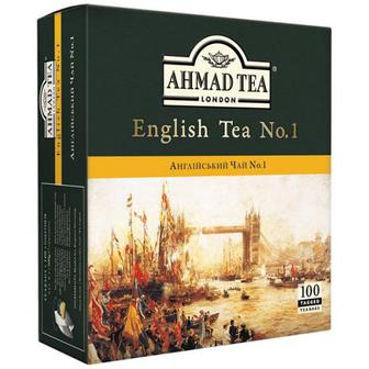 Чай Ahmad English 100шт