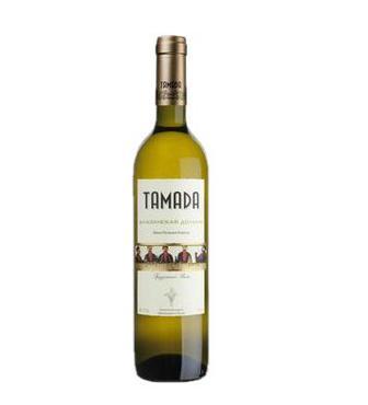 Вино Тамада Алазанська долина біле н/сол0,75л